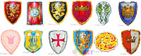 детские рыцарские щиты