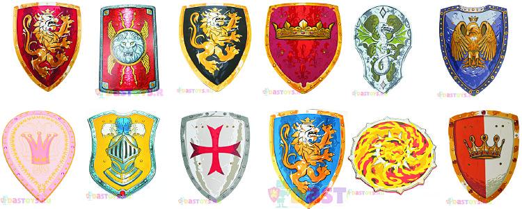 Купить детский рыцарский щит