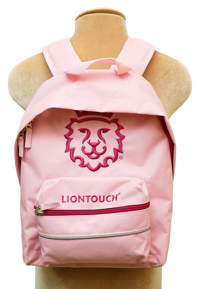 розовый рюкзак для девочки