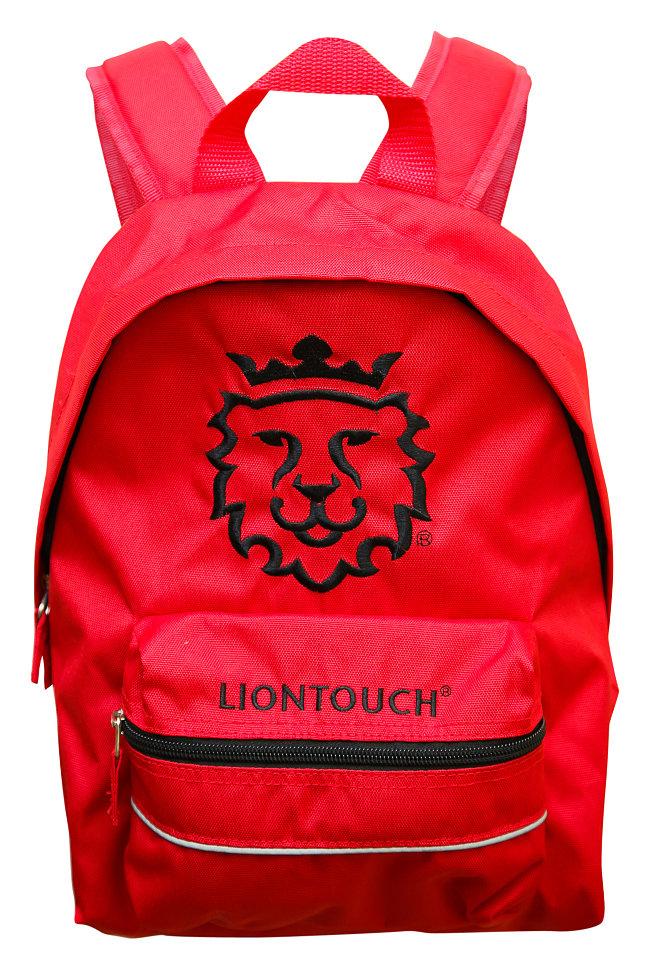 детский красный ортопедический рюкзак