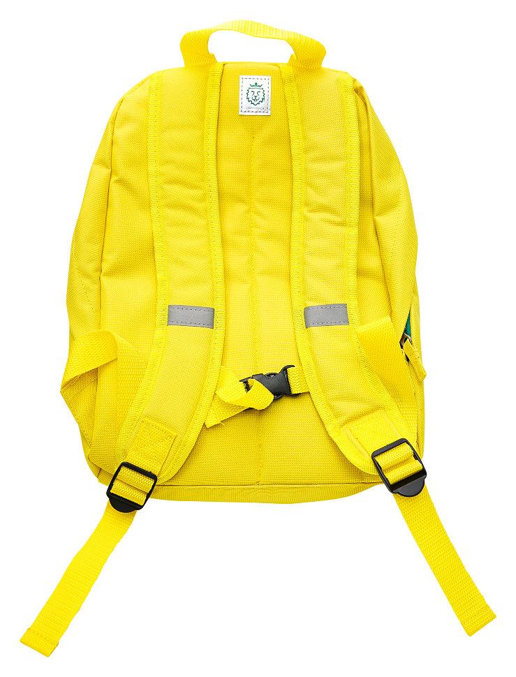 желтый детский рюкзак