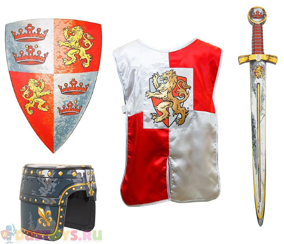 детские игрушки щит меч шлем