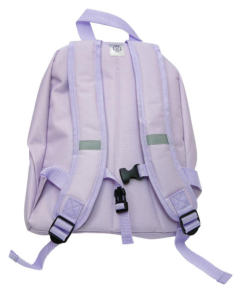 лиловый рюкзак для малыша