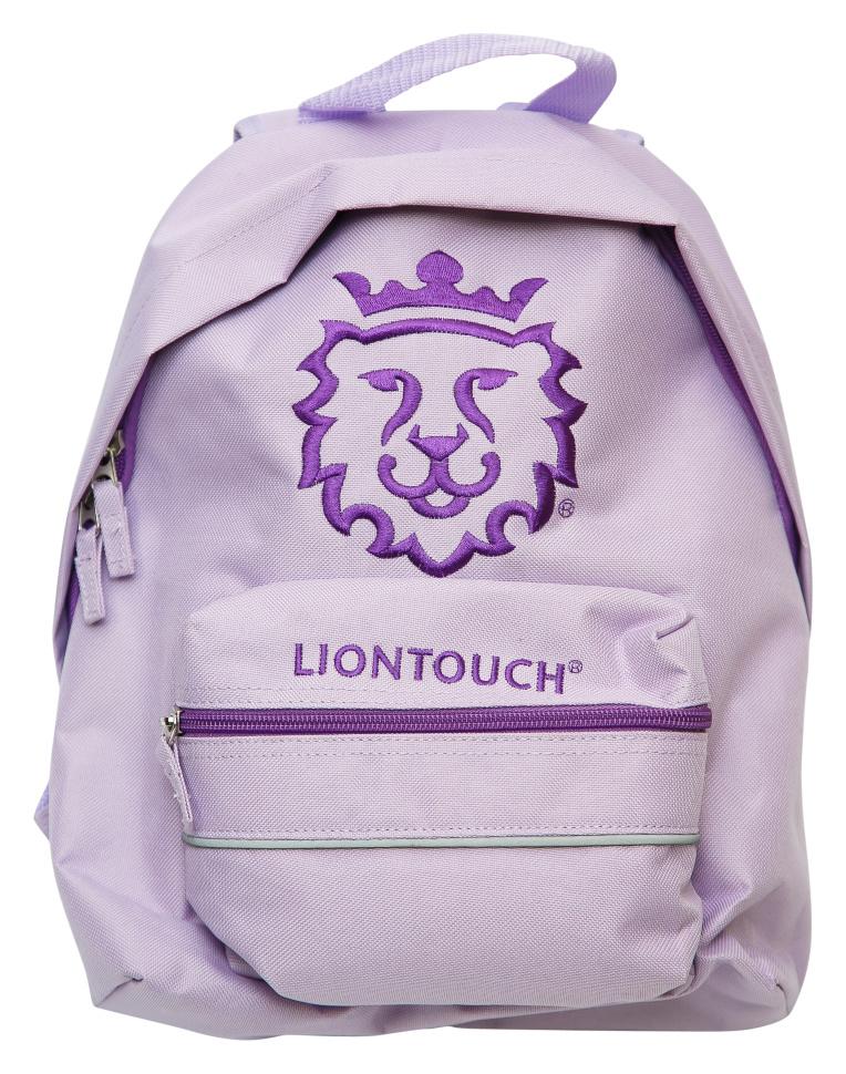 лиловый рюкзак для дошкольника