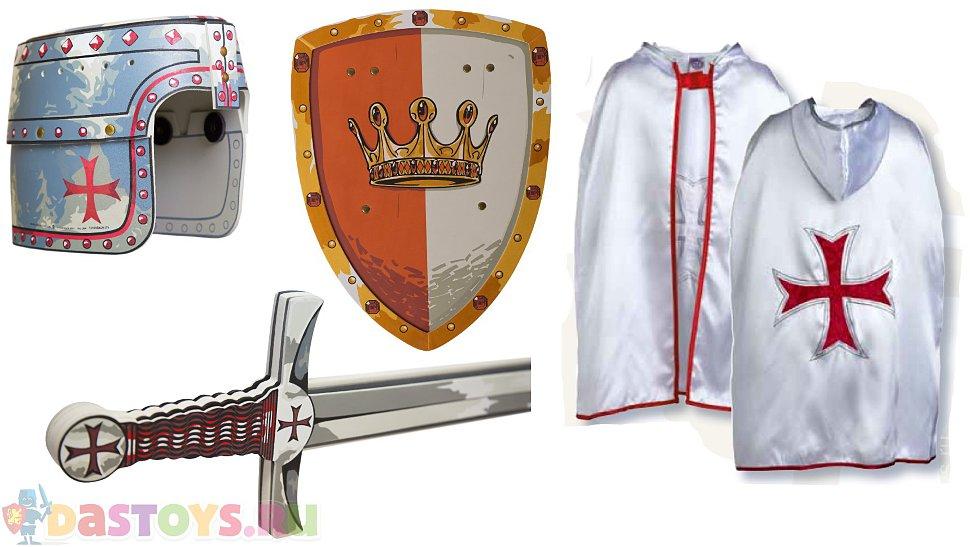 костюмы рыцарей средневековья
