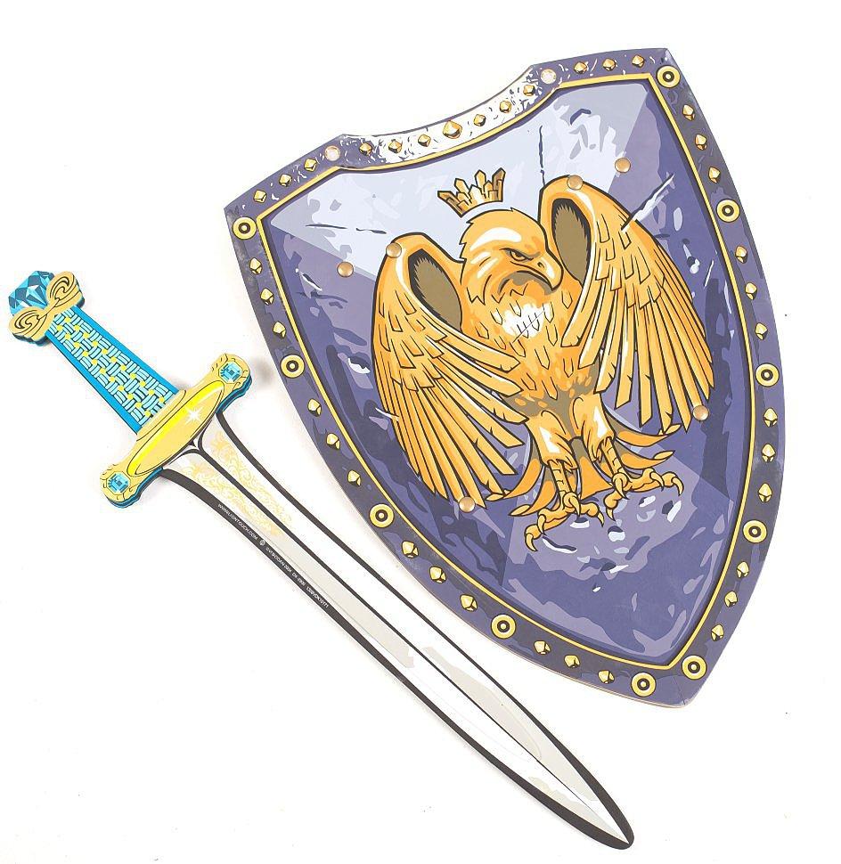 меч с этническим узором на рукоятке