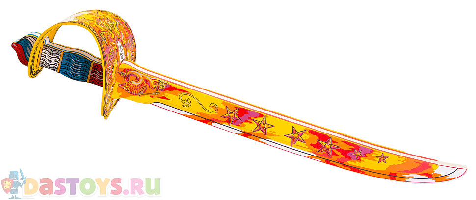 красный игрушечный меч