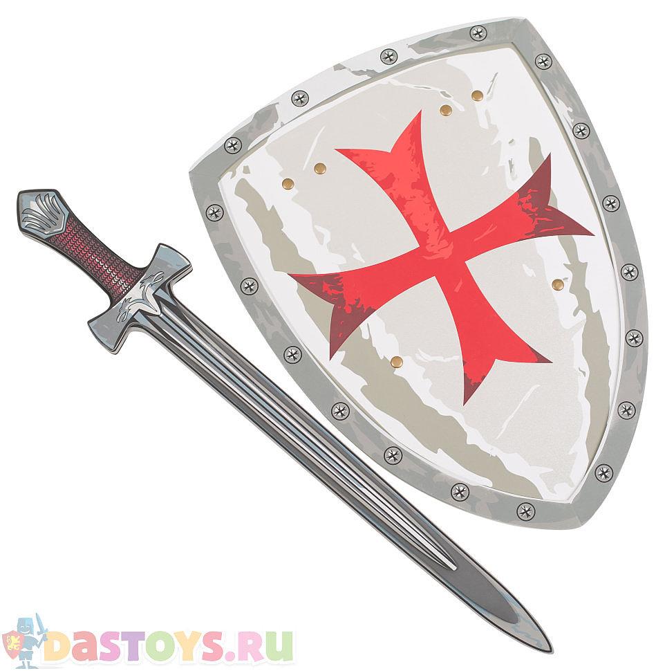 серый меч с коричневой рукоятью