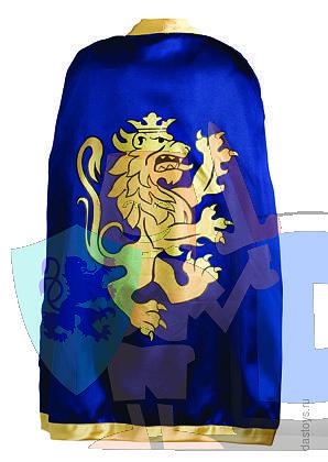 детский маскарадный костюм синего рыцаря