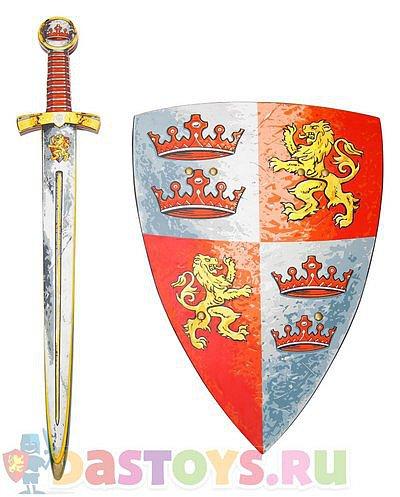 деревянный щит и меч купить