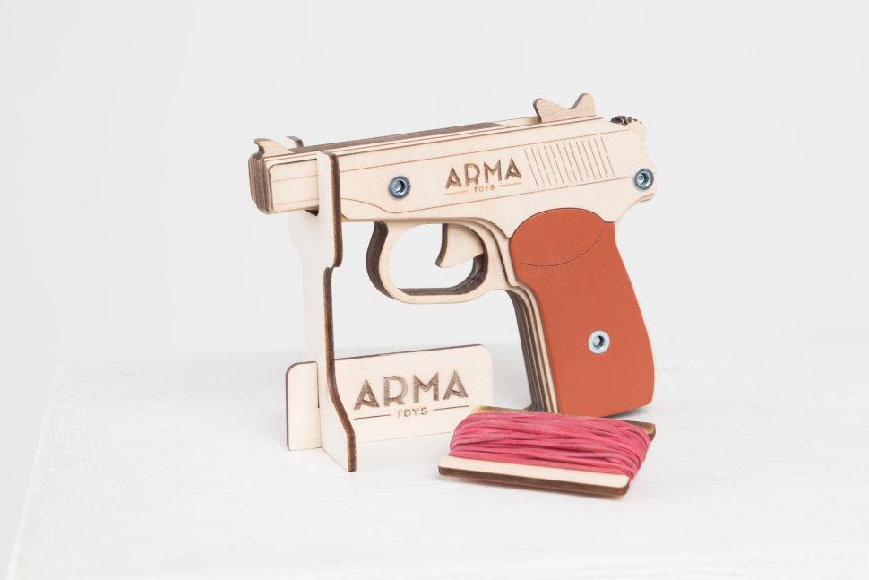 Резинкострел макаров пистолет купить белые банты для девочек